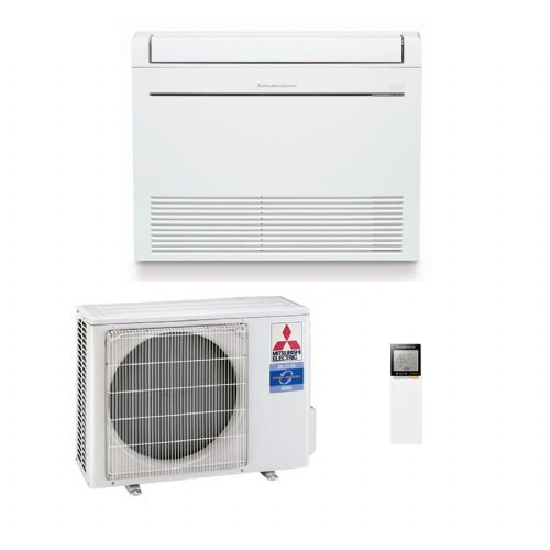 Mitsubishi Electric Air Conditioning Heat Pump Inverter MFZ-KA50VA Floor Mounted 5Kw/17000Btu B 240V~50Hz